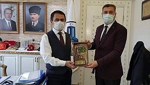 Başkan Pehlivan, Vali Aktaş'ı ziyaret etti