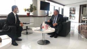 Başkan Ramazan'ın Ankara temasları
