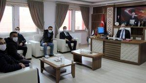 Bayburt AK Parti Merkez İlçe Başkanı Resul Kaya'dan Gümrükçü'ye ziyaret