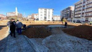 Belediye Başkanı Ekicioğlu, Yenice Mahallesinde çalışmaları yerinde inceledi