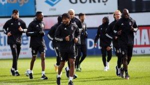 Beşiktaş, Sivasspor maçı hazırlıklarına ara vermeden başladı