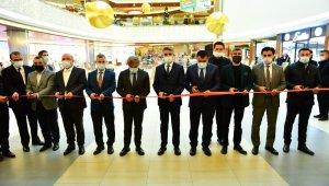 Beydağı Gençlik Merkezi'nin sergisi AVM'de açıldı