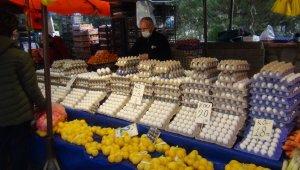 Bursa'da yumurta fiyatları arttı