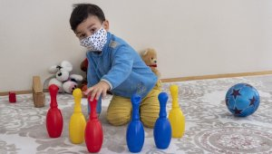 Büyükşehir belediyesi çocuklara 30 bini aşkın maske dağıttı