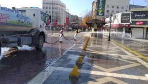 Büyükşehir temizlik çalışmalarına aralıksız devam ediyor