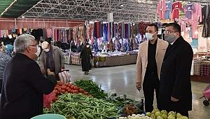 Çan'da Halk Pazarı iki gün