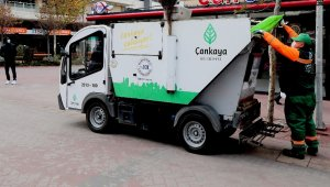 Çankaya'da temizlik işinde de tasarruf