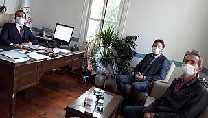ÇARO'dan Murat Yılmaz'a ziyaret
