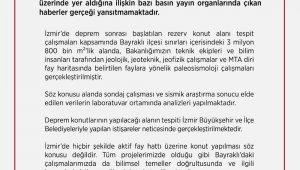 """Çevre ve Şehircilik Bakanlığı: """"İzmir'de hiçbir şekilde aktif fay hattı üzerine konut yapılması söz konusu değildir"""""""