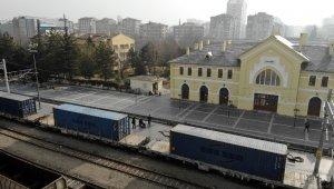Çin'e giden ikinci ihracat treni Kayseri'de