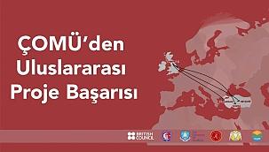 ÇOMÜ Turizm Fakültesi'nden uluslararası proje başarısı