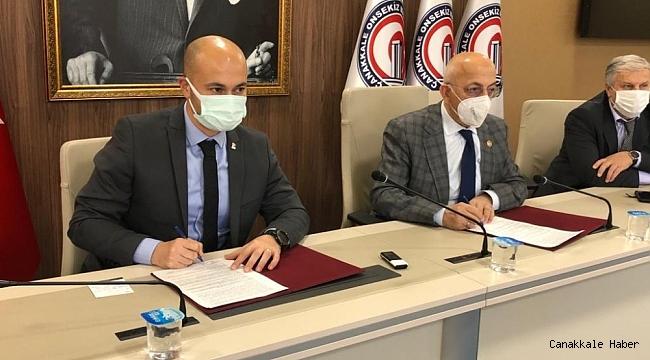 ÇOMÜ ile ÇATOD arasında işbirliği protokolü imzalandı