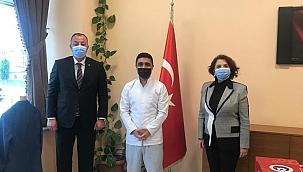 ÇTSO Başkanı Semizoğlu'ndan Devlet Hastanesi'ne ziyaret