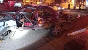 Edremit'te kısıtlamada kaza: 1 ölü