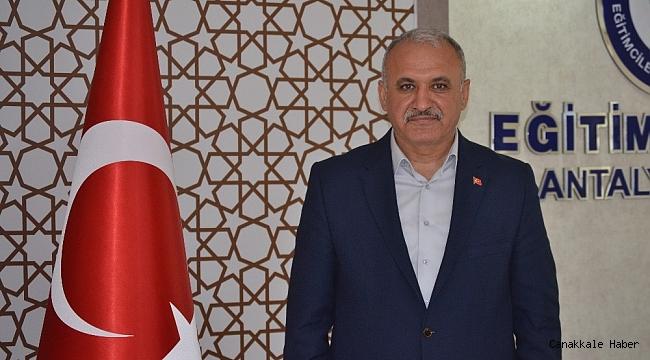 """Eğitim Bir sen Antalya Şube Başkanı Eyüp Bülent Miran: """"Zulüm egemenlik enstrümanına dönüştü"""""""