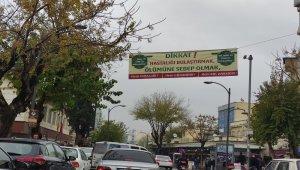Eyyübiye'de virüsle ilgili uyarıcı afişler asıldı