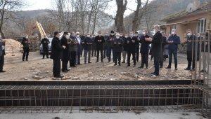 Günlük 300 büyükbaş hayvan kapasiteli mezbahanın temeli atıldı
