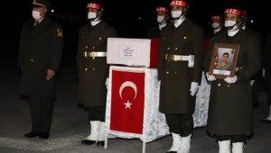 Hakkari şehidi Güler için tören düzenlendi