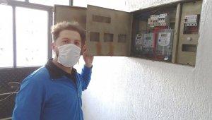 Hisarcık'ta elektrik kesintilerine tepki