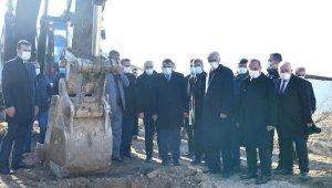 Kanalizasyon yatırımına törenle start verildi