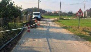 Kapukargın Mahallesi Kanalbaşı Mevkiinde İçme Suyu Hattını Yenileniyor
