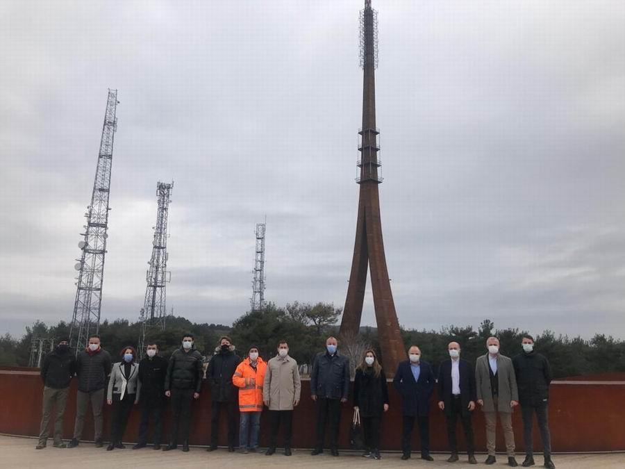 Karasal-Sayısal Radyo Televizyon Verici Kulesi