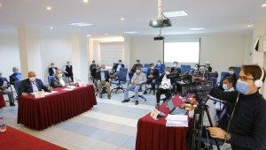 Kaş Belediyesinde yılın son meclis toplantısı yapıldı