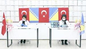 Kayseri'den kardeş şehir Mostar'a 50 bin adet maske ve hijyen malzemesi