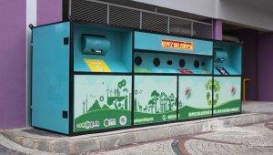 Kepez'in dört bir yanına 'Mobil Atık Getirme Merkezi'