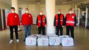 Kızılay'dan Kurtalan'da yardıma muhtaç ailelere yardım