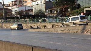 Kocaeli'de sürücüler geri geri giderek denetim noktasından kaçtı
