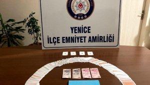 Kumar oynarken suçüstü yakalanan 14 kişiye 44 bin 100 TL ceza kesildi