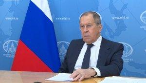 """Lavrov: """"Washington'un İran'a karşı kelimenin tam anlamıyla yıkıcı bir tavrı var"""""""