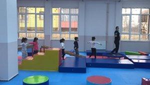 Manisa'da 'Spora cimnastik ile başlıyorum' projesi başladı
