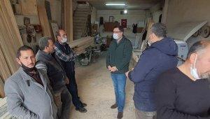 MHP ilçe yönetiminden esnafa yılbaşı ziyareti