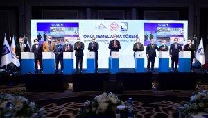 Milli Eğitim Bakanı Ziya Selçuk İstanbul'da 6 okulun temel atma töreni programına katıldı