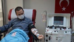 Ordu'da 'immün plazma' bağışına başlandı