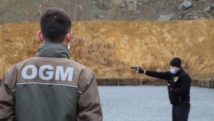 Orman muhafızlarına 'silah' eğitimi