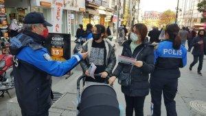 Polis, broşür dağıtarak dolandırıcılara karşı uyardı