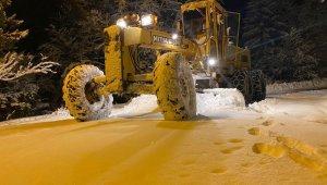 Rize'de 89 köy yolu kar nedeniyle ulaşıma kapandı