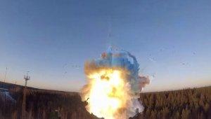 Rusya'dan balistik füze tatbikatı