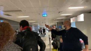 Sabiha Gökçen Havalimanı'nda yolcular ile görevliler arasında korona testi pahalı tartışması