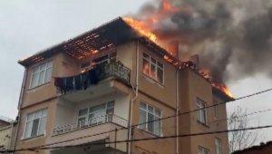 Sinop'ta ev yangını