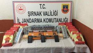 Şırnak'ta kaçakçılık operasyonu: 43 gözaltı