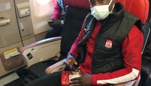 Sivasspor, Beşiktaş maçı için İstanbul'a gitti