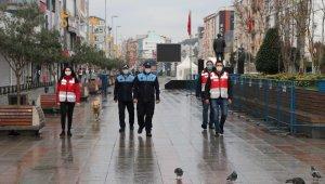 Sultanbeyli'de sokağa çıkma kısıtlamasına uymayan 378 kişiye 1 milyon 200 bin TL ceza