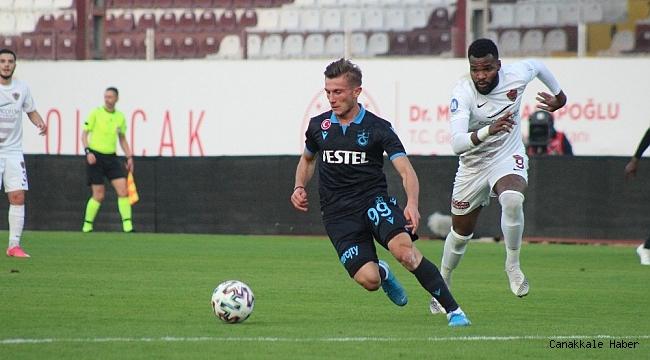 Süper Lig: A. Hatayspor: 0 - Trabzonspor: 0