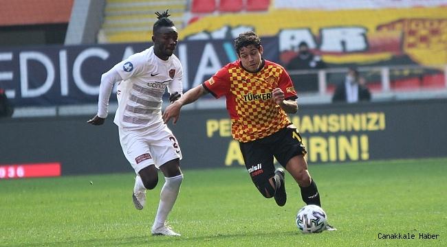 Süper Lig: Göztepe: 0 - Hatayspor: 1