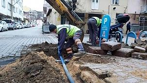Tatlı su ve kanalizasyon hattı yenileme çalışmaları