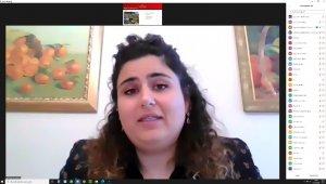THY Mühendisi Küçükoğlu online konferansla öğrencilerle buluştu